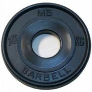 MB Barbell Евро-классик диск 1,25 кг, фото 1