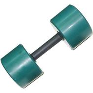 Гантель обрезиненная 9 кг, цветная MB-FitC-9, фото 1