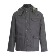 Куртка с капюшоном Animal мужская HIDE ASPHALT GREY (L63), фото 1